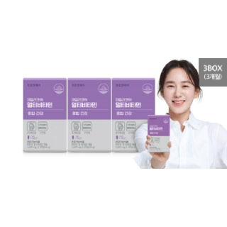 천호엔케어 매일 필요한 종합 건강 데일리코어 멀티비타민 3박스 (3개월분) (1,000 mg X 30정)*3박스