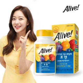[얼라이브] 멀티비타민 포 맨 60정 / 2개월분