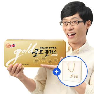 [고려은단] 비타민C 골드플러스 120정+추석한정 쇼핑백