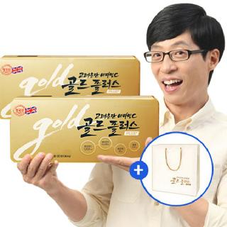 [고려은단] 비타민C 골드플러스 120정 x 2개+추석한정 쇼핑백
