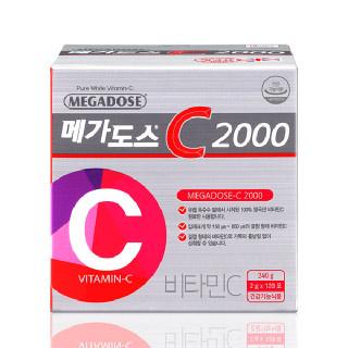 [고려은단] 메가도스C 2000 120포+추석한정 쇼핑백
