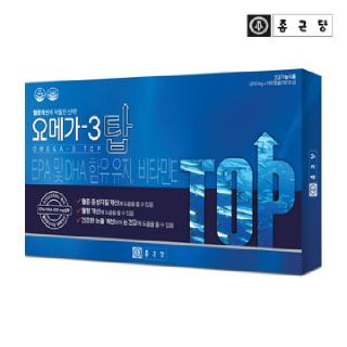 종근당 오메가3 탑 1박스(3개월분)