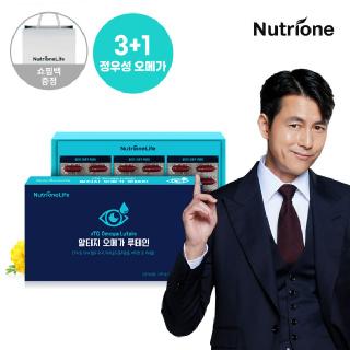 [뉴트리원]정우성 알티지 오메가 루테인 1박스(3개월분)/쇼핑백 증정