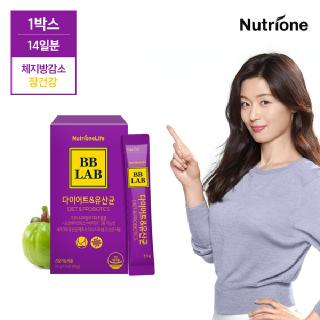 [뉴트리원]전지현 비비랩 다이어트&유산균 14포 (2주분) /가르시니아