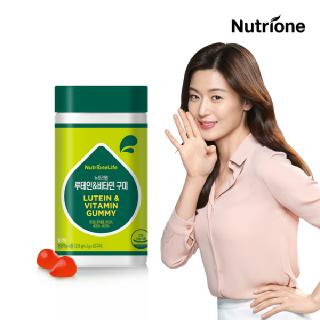 [뉴트리원] 전지현 루테인&비타민A 60구미 /딸기맛