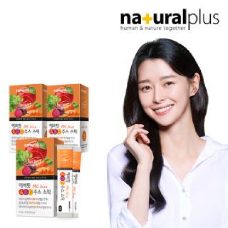 권나라 에버핏 ABC주스 젤리 스틱 15포 3박스 / 유기농원료 에이비씨주스