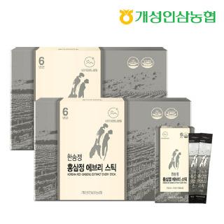 개성인삼농협 한송정 홍삼정 에브리스틱 30포*2박스