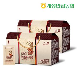 개성인삼농협 한송정 녹용홍삼활력 30포*2박스