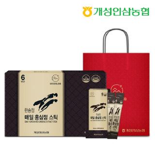 개성인삼농협 한송정 매일 홍삼정스틱 60포*1박스