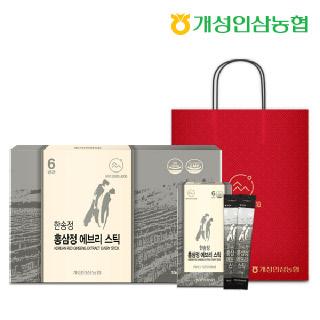 개성인삼농협 한송정 홍삼정 에브리스틱 30포*1박스