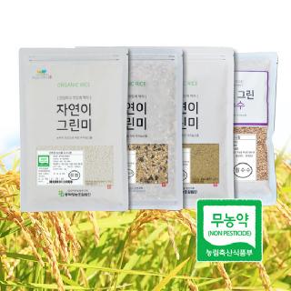 농가돕기 친환경 주잡곡세트 4종(2019년)