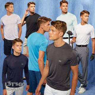남녀공용 레츠고마운틴 냉감7종 쿨티셔츠 골프 낚시 냉장고티셔츠 등산티셔츠