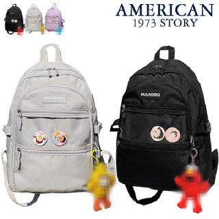(현대Hmall)[아메리칸스토리]투명포켓 백팩/캐주얼가방/학생책가방/남성가방/여성가방/노트북/학교/스쿨백_GURB-911
