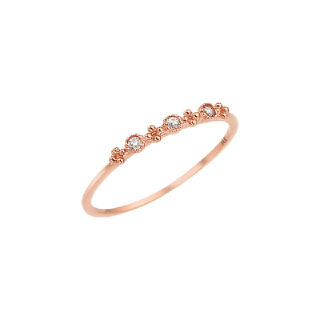 [TOUCH MY JEWELRY] 월도프 반지 ROOS4005