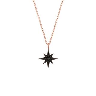 [Be My Star]리틀 스타 다크 목걸이 NLKS4077