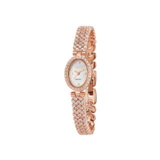 미니 로얄 그레이스 오벌 시계 핑크 WR002MWPK