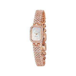 미니 로얄 그레이스 스퀘어 시계 핑크 WR001MWPK