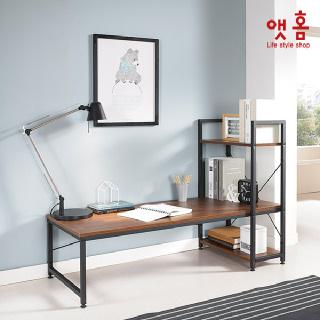 앳홈 베이직 좌식 책상 선반형1200