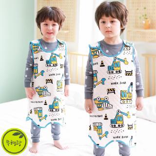 유아 어린이 보온 수면 조끼 슬리핑 /M붕붕존(삼중직)