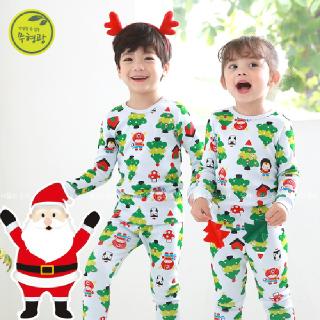 유아 실내복 아동 내의 아기 겨울 내복 / P히어로트리 (20수) 오가닉 무형광