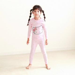 M리본캣츠(30수) 여아 유아 아동 아기 실내복 긴팔 내복