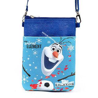 (현대Hmall)겨울왕국2 초등학생 크로스백 핸드폰가방 보조가방 초등학생가방_올라프
