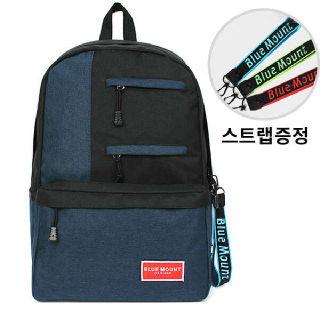 (현대Hmall)[BLUE MOUNT] 캐주얼 백팩 패션가방 여행가방 학생가방 신학기 가방+스트랩