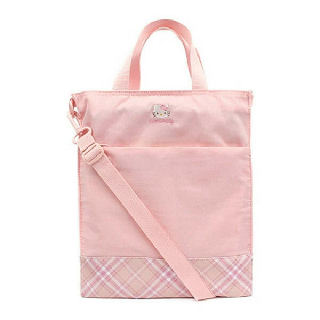 (현대Hmall)헬로키티 여아용 보조가방 초등학생 신발주머니 크로스백