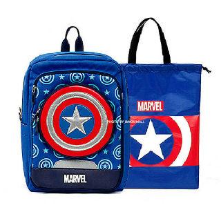 (현대Hmall)캡틴아메리카 초등학생 신학기 가방+보조가방 세트 입학선물