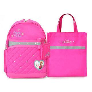 (현대Hmall)겨울왕국 여아용 가방 초등학생가방+보조가방 세트
