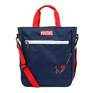 (현대Hmall)스파이더맨 초등학생 보조가방 실내화주머니 안감분리 크로스백 신학기선물