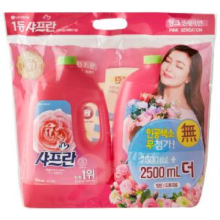 농협하나로마트 샤프란 핑크센세이션 2.5L*2