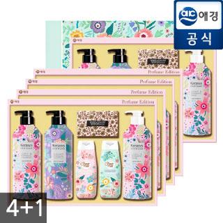 애경 선물세트 퍼퓸 I-6호 4+1 (총 5개 / 1박스)
