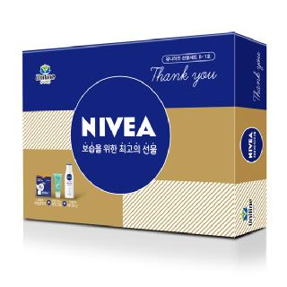 유니라인 니베아 핸드크림 바디로션 보습 선물세트 B-1호