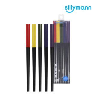 [실리만] 실리콘 프리미엄 실리콘 젓가락 5SET WSK3725