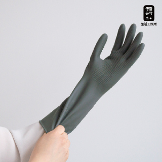 [생활공작소] 고무장갑 3P