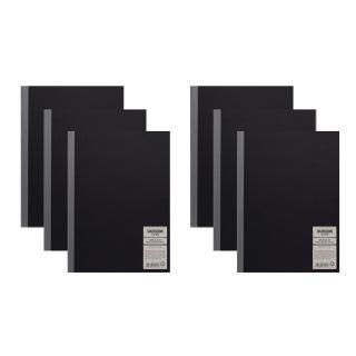 (현대Hmall)단순생활 실제본노트 B5 블랙 6권