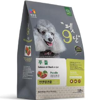 목우촌 펫9단 푸들 사료 1.8kg(전연령)