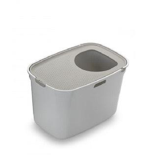(현대Hmall)[모데르나] 탑캣 고양이화장실 화이트그레이
