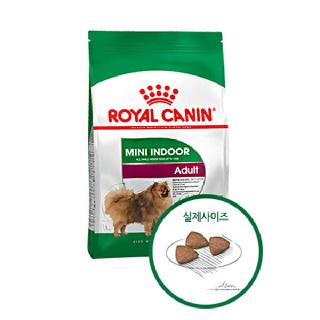 (현대Hmall)로얄캐닌 강아지사료 미니 인도어 1세이상 1.5kg /강아지사료