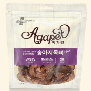 (현대Hmall)[아가펫] 천연 애견간식 송아지목뼈 100g X 5개