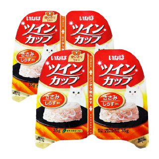 (현대Hmall)이나바 고양이 트윈컵 닭가슴살 치어 / IMC215x8