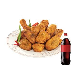 [기프티쇼]굽네치킨 굽네 고추 바사삭+콜라1.25L