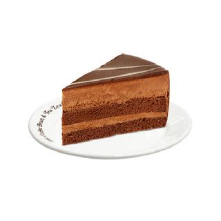 [기프티쇼][커피빈] 초콜릿 무스 케익 (1조각)