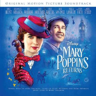 (현대Hmall)Mary Poppins Returns (메리 포핀스 리턴즈 OST) 포스터 지관통 제공
