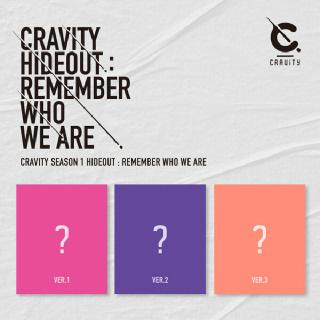 (현대Hmall)크래비티(CRAVITY) - CRAVITY SEASON1.  [HIDEOUT: REMEMBER WHO WE ARE](버젼랜덤출고)