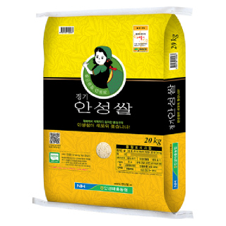 [전단상품]★햅쌀★안성마춤농협 안성쌀(추청), 2020년산, 20kg