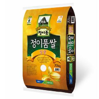 [전단상품]보은농협 정이품쌀(삼광), 2019년산, 20kg