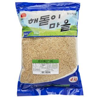 하조대농협 현미쌀, 2020년산, 4kg