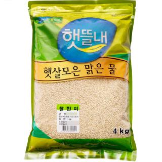 남보은농협 찰현미, 2020년산, 4kg